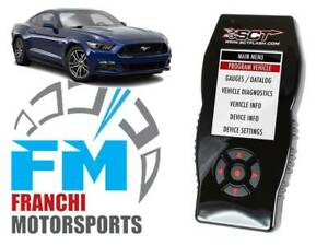 Sct X4 7015 Tuner Programmer For All 1999 2018 Ford Mustang Gt And V6