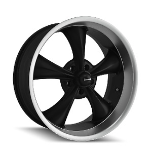Staggered Set New 20x8 5 And 22x9 Ridler 695 Black Wheels Rims 5x120 65 5x4 75