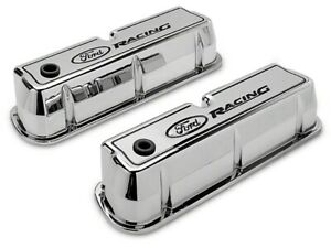 Ford Racing 302 001 Sb Ford Aluminum Polished Valve Covers Tall W ford Racing L