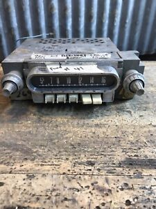 269 Vtg Ford 1960 63 Mercury Push Button Car Radio Hot Rat Rod