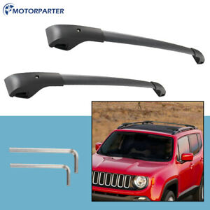 Box 2 Roof Rack Cross Bar For Jeep Renegade 2015 2019 Cargo Carrier W Hardware