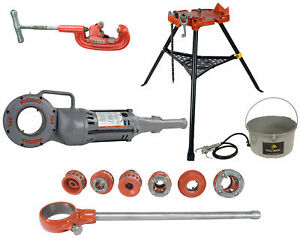 Reconditioned Ridgid 700 Machine With 12r Kit 2a Cutter 460 Tristand 418 Oiler