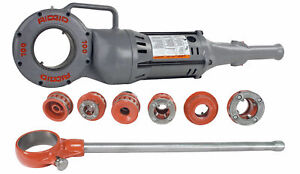 Reconditioned Ridgid 700 Pipe Threader With 12 r Ratchet Kit 1 2 2 Npt Dies