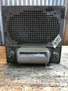 293 Vtg 1942 Chevy Truck Rare Push Button Car Radio Hot Rat Rod
