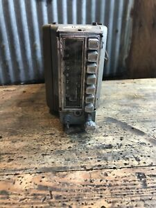 309 Vtg 1946 49 Plymouth Desoto Chrysler Push Button Car Radio Hot Rat Rod
