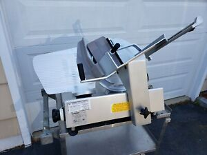 Bizerba Se12us Gravity Feed Manual Cheese Deli Meat Slicer Local Pick up Only