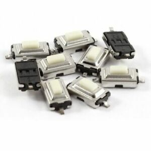 20 Pcs 3x6x2 5mm Tactile Smd Smt Push Button Micro Switch 2 Pin 4 Circuit Boards
