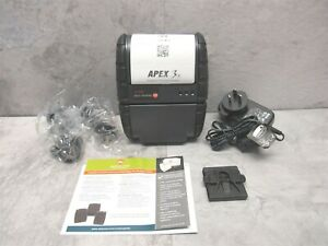 New Datamax O neil Apex 3 Bluetooth Thermal Mobile Printer 78828s1r 3 W Acc