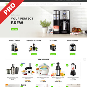 Premium Dropshipping Website Kitchen Appliances Store Ready made Business