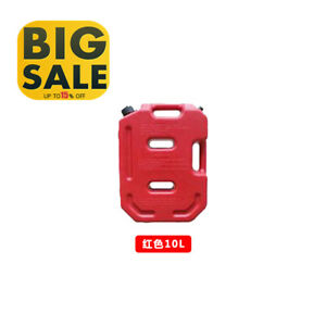 10l Fuel Tank Cans Portable Fuel Oil Storage Gas Can For Auto Parts Only Usa