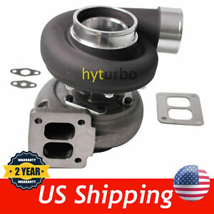 Gt45 Black V band 1 05 A r 98mm Huge 600 hps Boost Upgrade Racing Turbo Charger