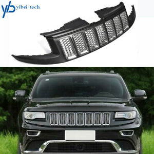 For Jeep Grand Cherokee 14 16 Srt8 Type Front Bumper Honeycomb Mesh Grille Grill