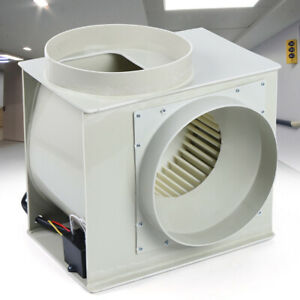 Industrial Lab Exhaust Fan Centrifugal Blower Fume Dust Smoke Vapour Extractor