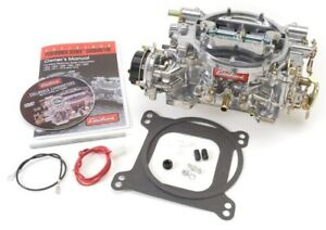 Edelbrock 1403 Performer Series 500 Cfm Square Flange Electric Choke Carbureto