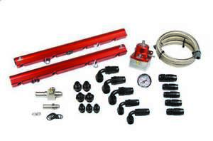 Aeromotive Mustang Gt 1986 95 Small Block Ford Fuel Rail Kit P n 14102