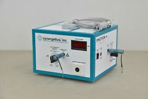 Synergetics Photon Laser Light Vitrectomy W Power Supply 22672 D13