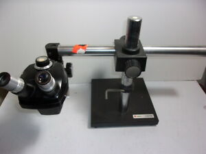Bausch Lomb Stereo Zoom 4 Microscope And Boom Stand 7 30x local Pickup Only