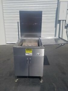 Belshaw Donut Fryer 718lcg ng Nat Gas Very Clean Works Good Sn W07030019