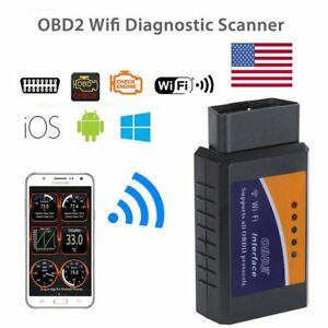 Mini Wifi Obdii Cars Code Reader Diagnostic Scanner For Ios Android Windows