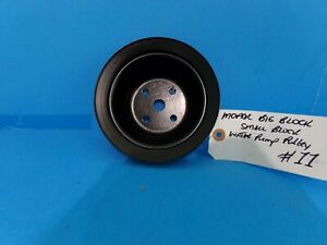 Mopar Big Block Small Block 1 Groove Water Pump Pulley Painted 11 318 340 383