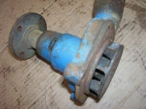 Vintage Fordson Major Diesel Tractor water Pump Turns Smoothly