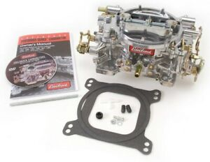 Edelbrock 9904 Performer Series 500 Cfm Square flange Manual Choke Carburetor