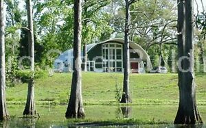 Durospan Steel 30x44x14 Metal Diy Quonset Hut Home Building Kit Open Ends Direct
