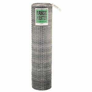 Galvanized Poultry Garden Fencing Netting Roll 2 Inch Wire Mesh 150 Ft X 24 In