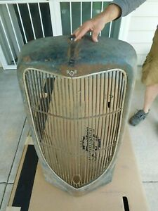 Ford Truck Grill Shell 1936 Original Grille