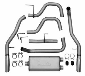 Dynomax 39450 Stainless Steel Exhaust System High Quality Material