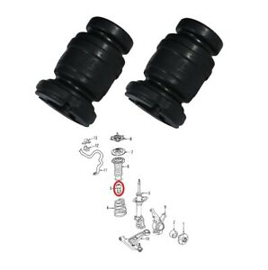 2 Front Shock Absorber Bumper Spring Rubber For 2005 2012 Toyota Yaris Vios Xp90