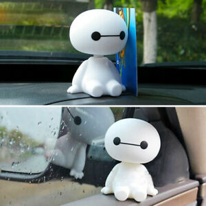 Big Hero Baymax Robot Cartoon Car Interior Decor Home Decoration Figure Toy Doll