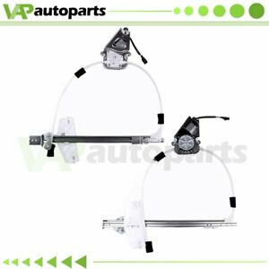 For 2002 2005 Jeep Liberty Power Window Regulator Front Left Right With Motor
