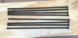 Farmall Ih H Early Sh Tractor Engine Motor Push Rods Set Of 8