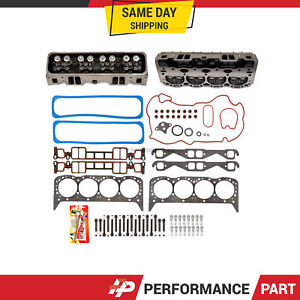 Complete Cylinder Head Bolts Head Gasket Set Fit 96 02 Gmc Chevrolet 5 7 Vortec