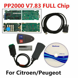 Pp2000 For Citroen Peugeot Obdii 2 Diagnostic Tool With Diagbox V7 83 Full Chip