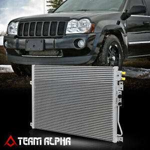 Fits 2005 2010 Jeep Grand Cherokee Parallel Flow Aluminum A C Ac Condenser 3247