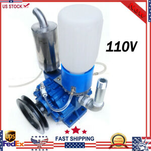 Vacuum Pump For Cow Milking Machine Milker Bucket Tank Barrel 250l min 13 Kg New