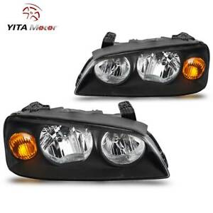 Yitamotor Headlights For 2004 2005 2006 Hyundai Elantra Factory Headlamp Pair