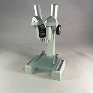 Vintage Fisher Scientific Stereo Microscope 10x 20x 30x 2x Made In Japan