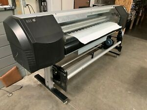 Oki Colorpainter W 64s Wide Format Printer 64 Color Print Banners Signs Vinyl