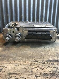 381 Vtg 1959 Plymouth Deluxe After Marketpush Button Car Radio Hot Rat Rod