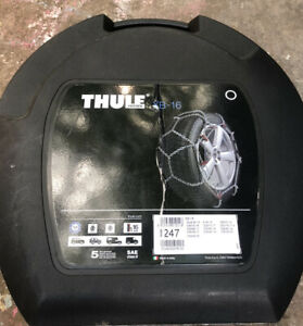 Unused Thule Xb 16 247 Snow Tire Chains With Case