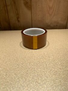 50mm X 33m 2 x36yds Kapton Tape High Temperature Heat Resistant Polyimide