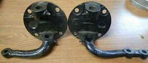 1937 41 Original Ford Spindles Round Back With Steering Arms