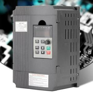 220v Single phase Variable Frequency Drive Inverter Vfd Speed Controller 1 5kw