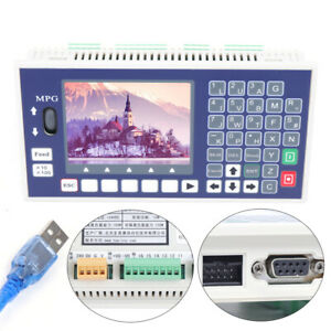 4axis Lcd Cnc Controller Usb Motion Control System For Servo Stepper Motor Lathe