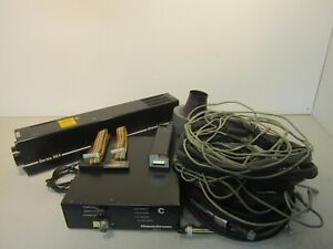 Omnichrome 4056r opto a01 Series 56x Laser With Power Supply Cables