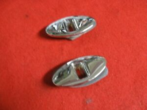 Corvette Original Rear Convertible Top Catch 1953 1954 1955