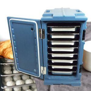 90l Commercial Insulated Hot Cold Chafing Dish Food Pan Carrier Safety Box